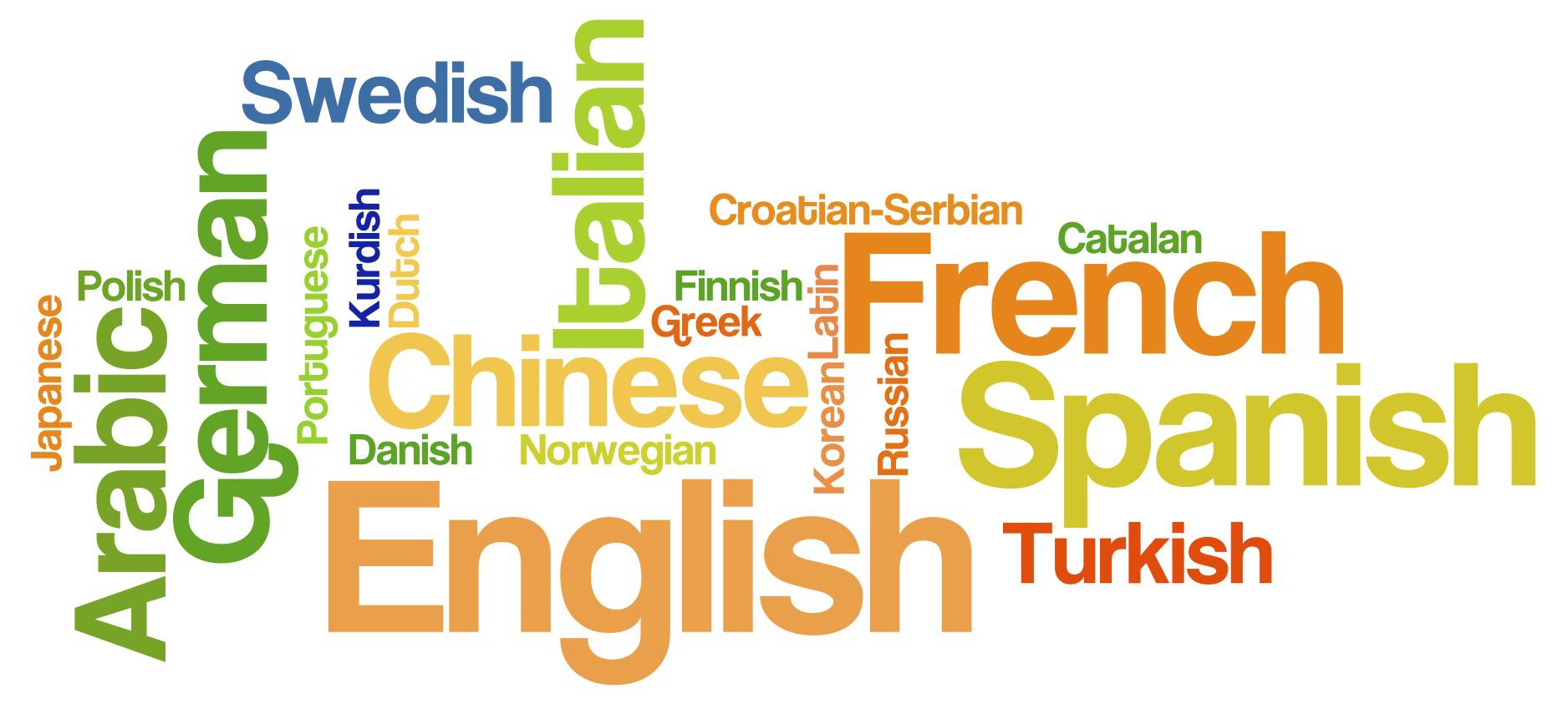 langues les plus parlées dans le monde