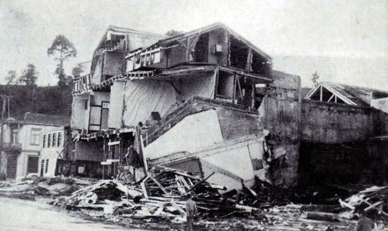 tremblement de terre Valdivia, Chili, 22 mai 1960