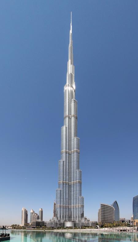 Burj Khalifa : immeuble le plus haut du monde
